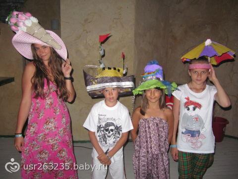 Конкурс шляп в школе