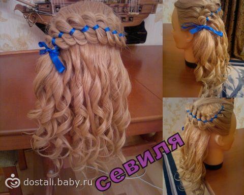 Как накрутить волосы плетением
