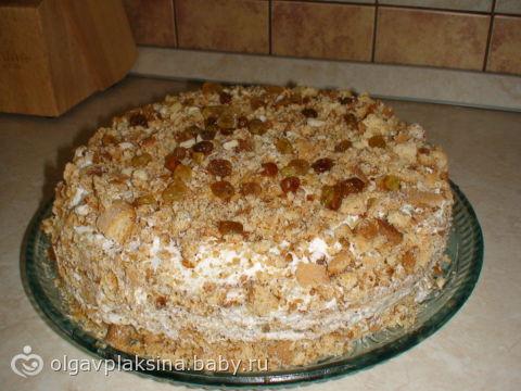 Песочный торт своими руками 60