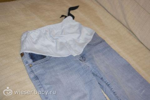 Как перешить брюки для беременных своими руками