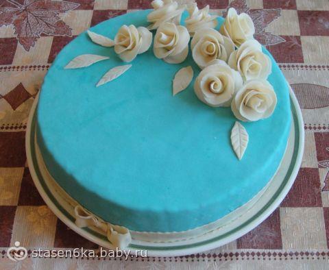 Как красиво украсить торт в домашних условиях мастикой
