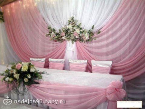 Современное и модное оформление свадебного зала.  MnogoModnogo.ru - все о...