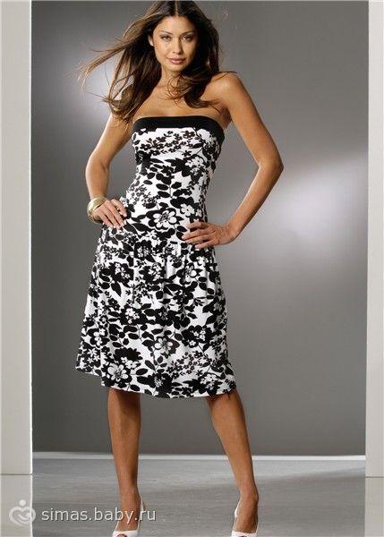 c6667c9ec8537a5 Выкройки и схемы вязания: Платье летнее из трикотажа, выкройка Сшить ...