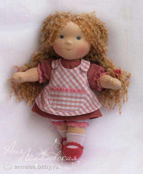 Сшить куклу своими руками для дочки 42