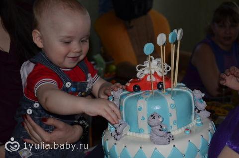Торт на годик, торт на 1 годик, Торт на 1 годик маль. торт мальчику на годик, и торт с хоккейным полем . .
