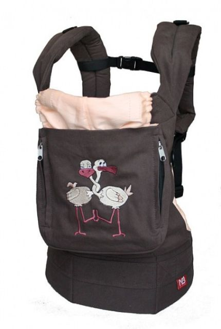 Эрго-рюкзак MB-design Butterfly (малиновый.