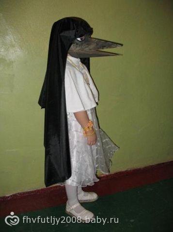 Папа сделал дочке костюм канарейки… я