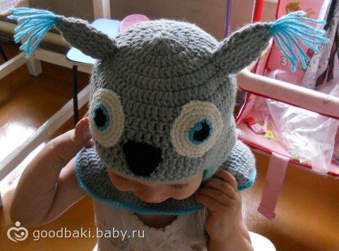 вяжем детям. вязание для детей. вязаная шапочка. вязание крючком. для детей. рукоделие. вяжем для детей. шапочка...