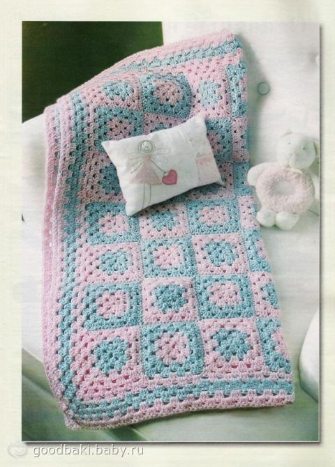 Вязание одеял и пледов для