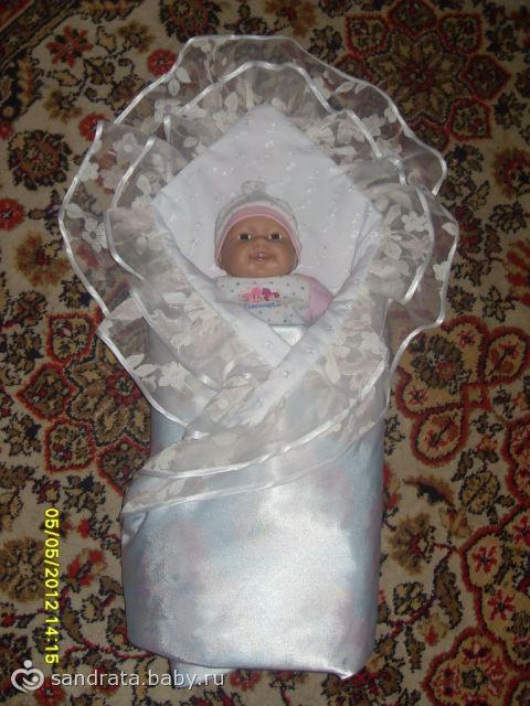Как сшить одеяло-конверт для новорожденного своими руками