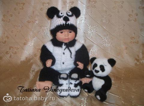 """новорожденного """"Панда """"."""