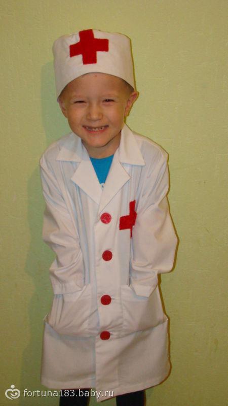 Как сшить костюм доктора в детский сад 34