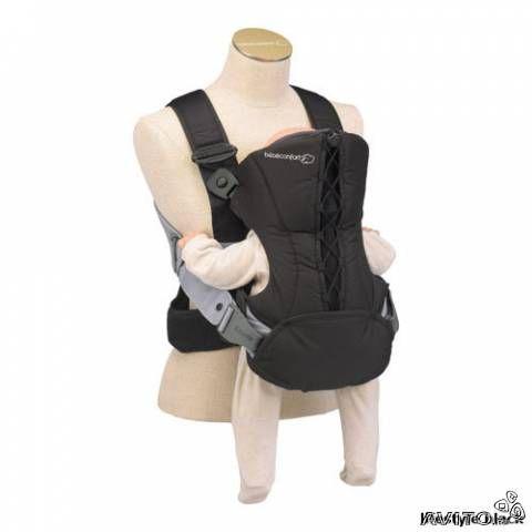 Нагрузка распределяется на плечи и спину родителя равномерно.