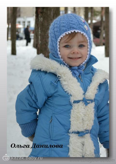 Мастер-класс по этой весенней шапочке для девочки, связанной спицами, подготовила для Вас. Ольга Данилова