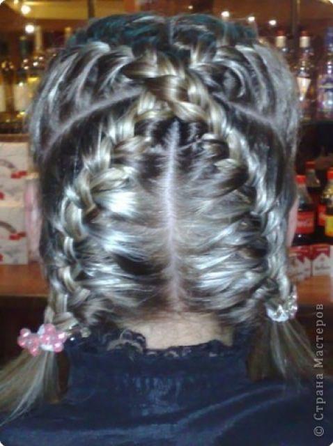 Плетение косы, Плетение косы Видео по категориям.  Косичка зизи: красивая ажурная коса на бок, схема вязания шарфа.