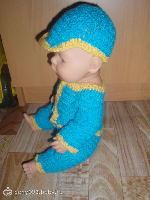 3. Вязание крючком.