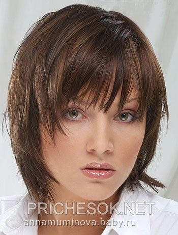 Прически стрижки на средние волосы девочкам