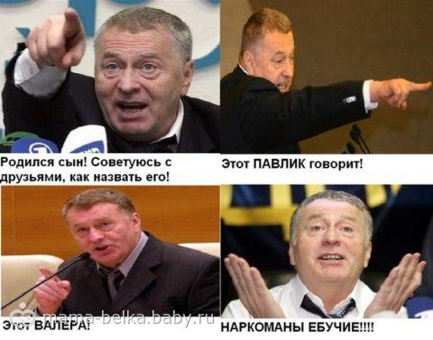Жириновский его статус