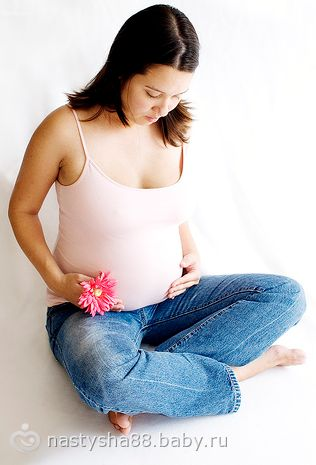 Живот во время беременности