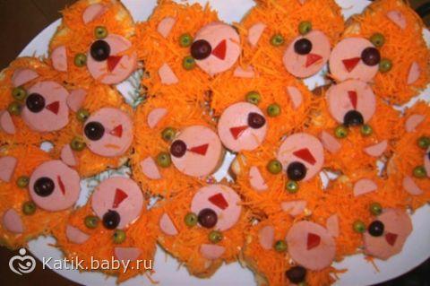 Бутерброды на детский праздник рецепты детский праздник рио