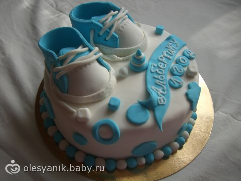 фото тортиков на 1 год мальчику