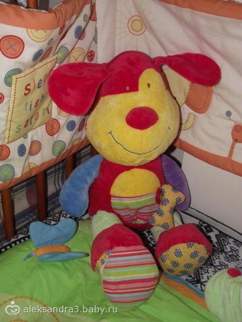 друзья сынишки в его кроватке (фото)