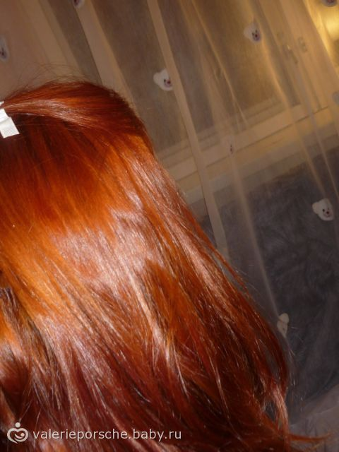 Рыжие волосы вид сзади