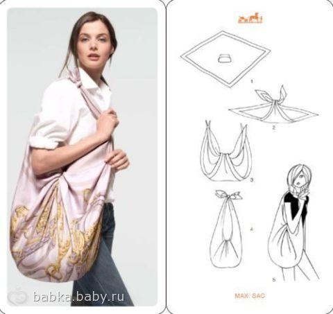 летняя сумка своими руками))))