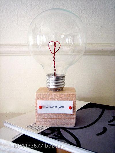Подарок своими руками романтика