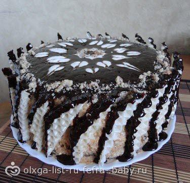 Очень вкусный Торт «Лебединое озеро» ФОТО+рецепт